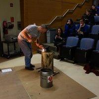 Justin Fermann blacksmithing demo