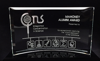 UMass Mahoney Alumni Award for the iCons Program